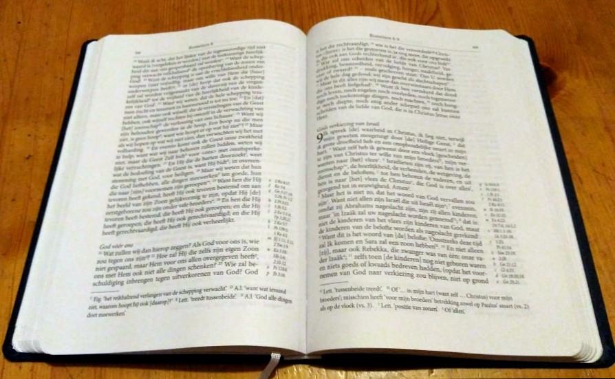 Herziene Voorhoevvertaling Telos Bijbel 5e editie weer beschikbaar
