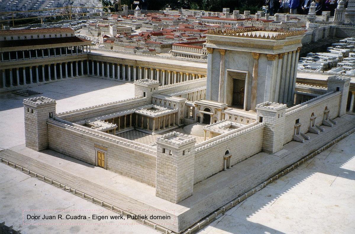 Tempel in de tijd van Jezus