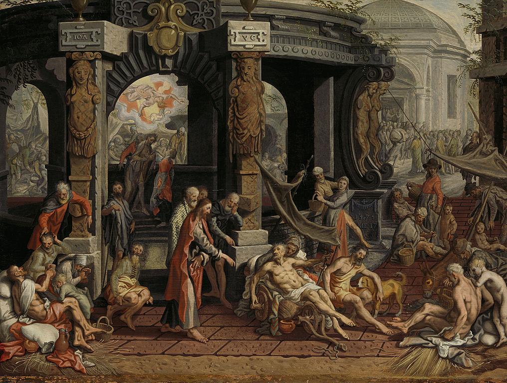 Genezing van de Lamme van Bethesda (Public Domain)