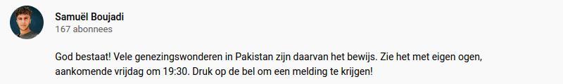 gebedsgenezer op youtube