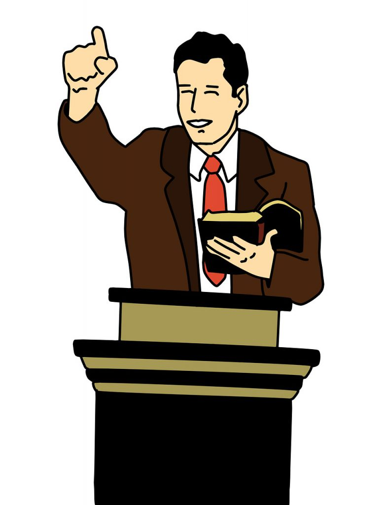 predikant, leider, preek, spreker