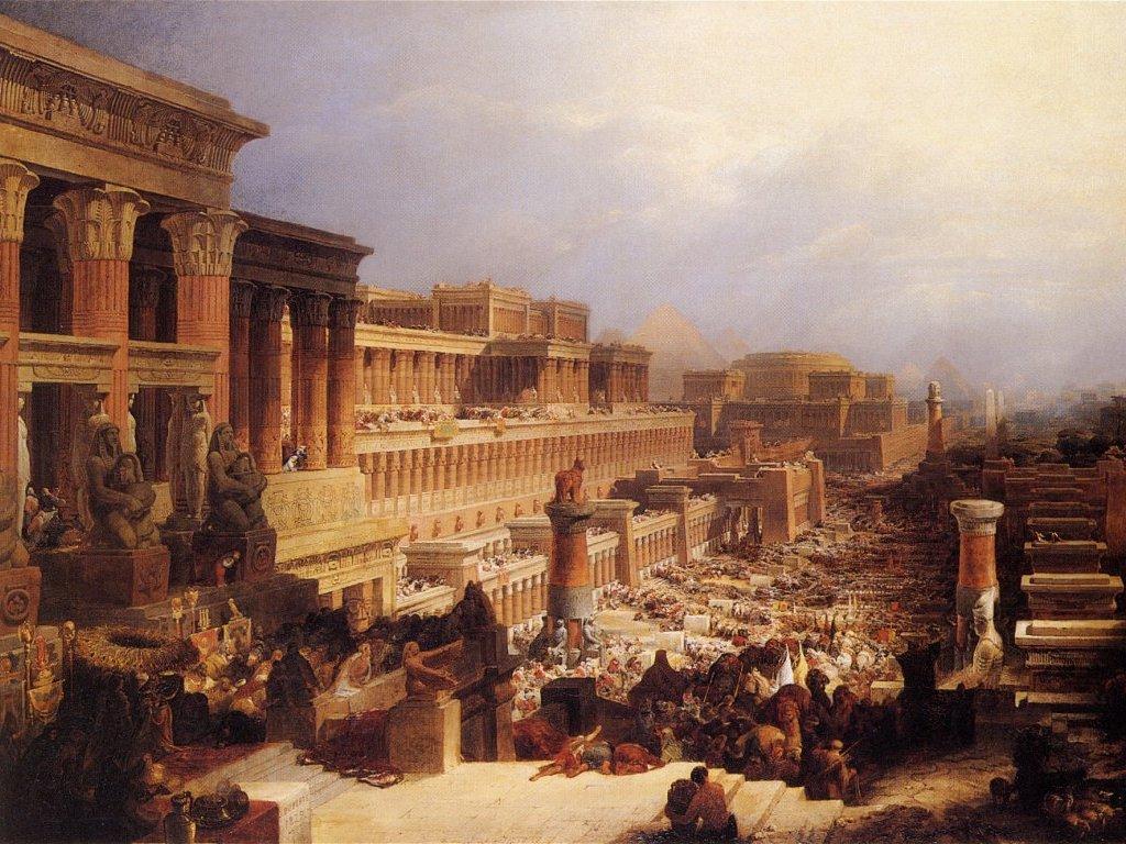 israel egypte slavernij