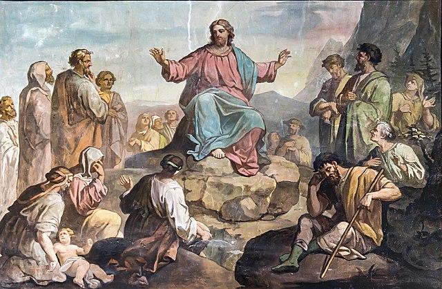 Bergrede - Jezus
