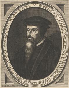Reformator Johannes Calvijn - Public Domain