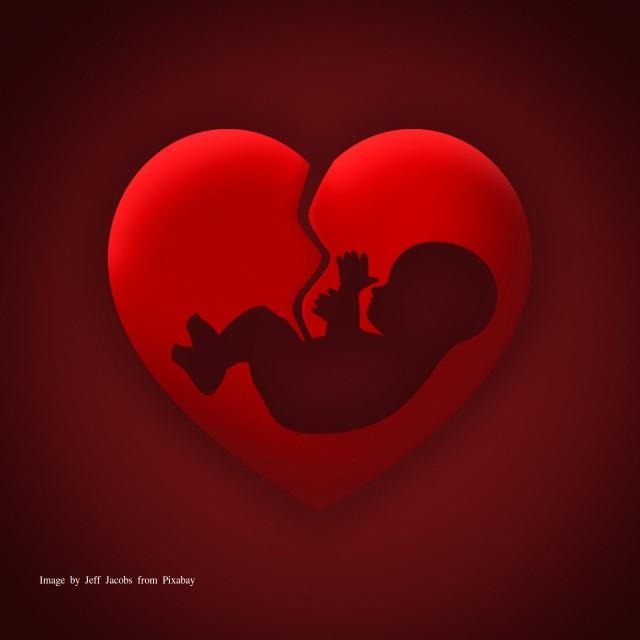 Abortus Baby Gebroken hart