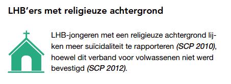 Facactsheet Suicidaliteit onder LHBT-ers