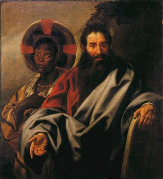 Jordaens Mozes en zijn Nubische Vrouw