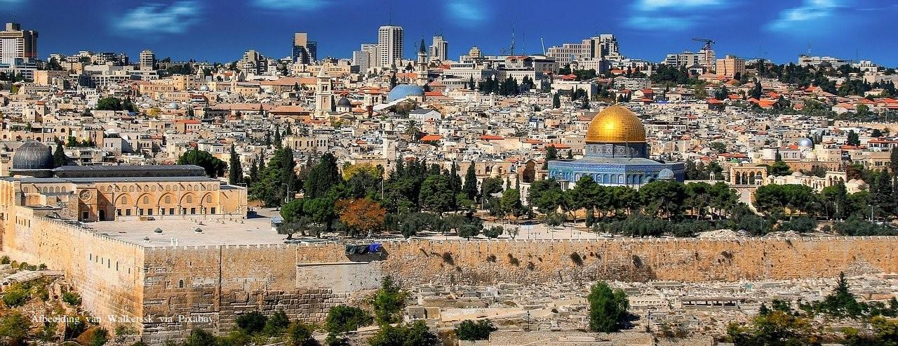 Jeruzalem Moskee Klaagmuur
