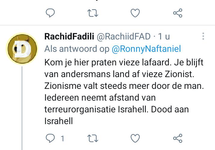 anti-semitisme op twitter
