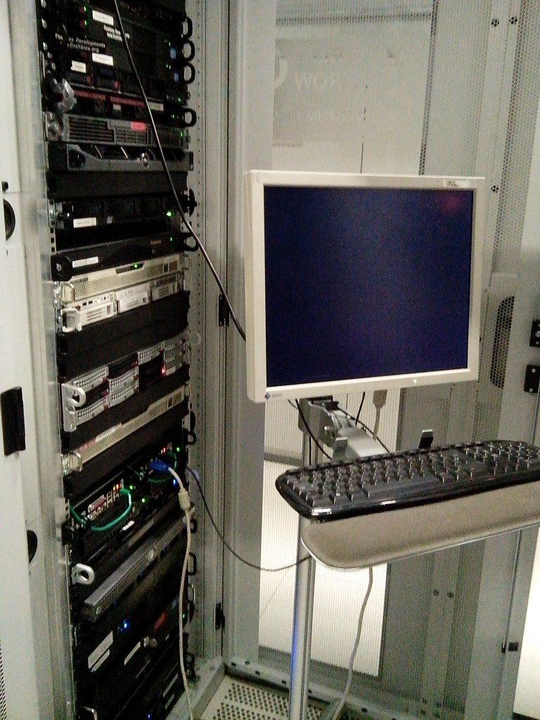 beheren webservers datacentrum