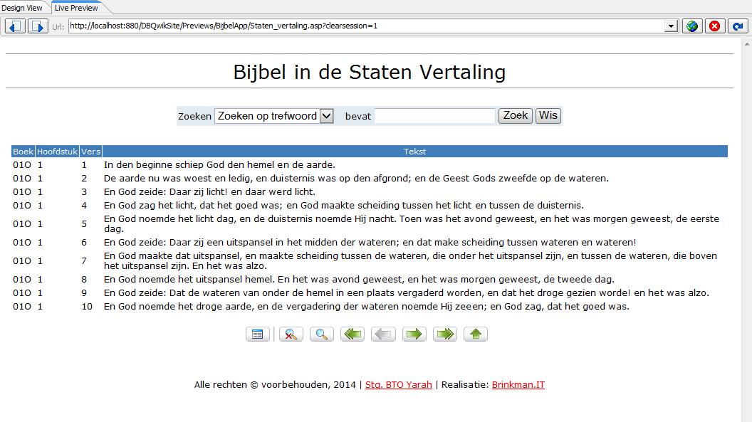 online bijbel project