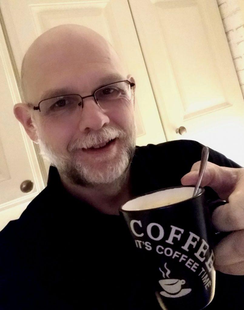 rudy met koffie