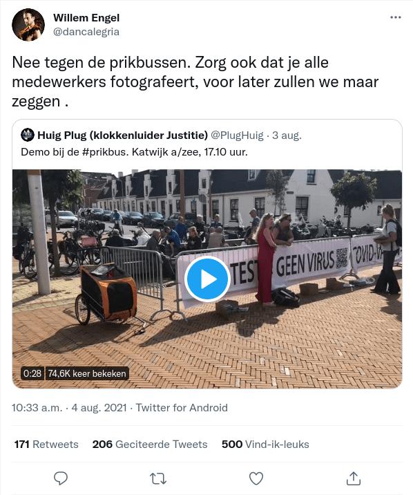 2021-08-06 Willem Engel bedreiging op Twitter