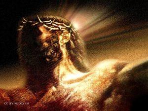 Jezus Doornenkroon Straf gedragen