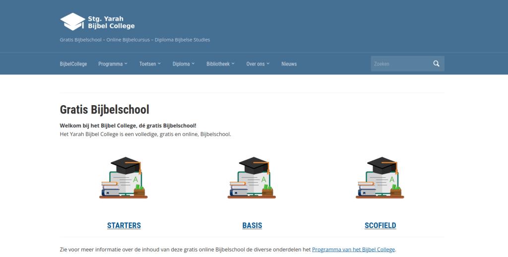 Yarah Gratis BijbelCollege online Bijbelschool